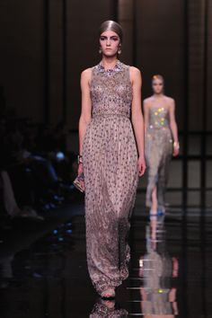 Giorgio Armani Prive : Runway – Paris Fashion Week – Haute Couture S/S 2014