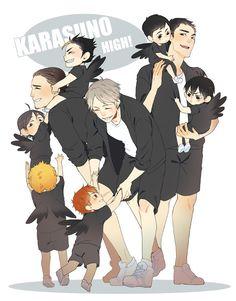 Taking Care of the others - Haikyuu! Kagehina, Nishinoya Yuu, Sugawara Koushi, Haikyuu Kageyama, Daisuga, Hinata Shouyou, Kuroo, Kenma, Tsukishima Kei