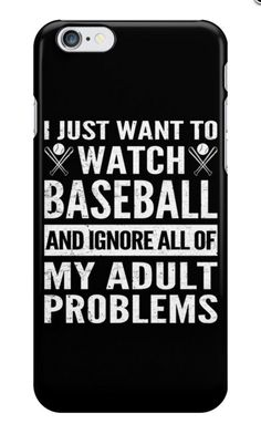 I Just Want To Watch Baseball