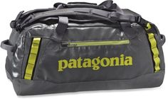 Patagonia Black Hole Duffle 60L. Can't wait to use it on my next travels!