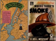 https://flic.kr/p/BCgdiL | Dell 275 + Mapback | 1949; Where there's Smoke by Stewart Sterling. Cover art by Gerald Gregg
