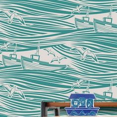 Love these wallpapers from Mini Moderns #design #lifestyle #patterns