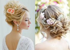 messy updo summer wedding hairstyles