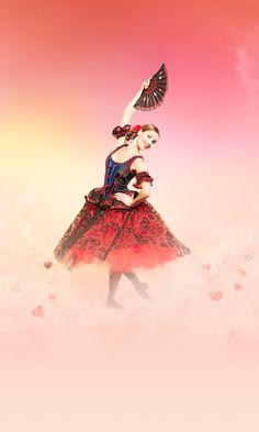 Les Grands Ballets | CASSE-NOISETTE / THE NUTCRACKER | Photo: Damian Siqueiros / zetaproduction.com | Danseuse/Dancer: Emma Garau Cima / www.grandsballets.com