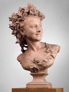 Allegorical Sculpture, Sculpture Head, Art Sculptures, Franz Xaver Winterhalter, Carpeaux, John Everett Millais, Terracotta, Roman Art, Art Studies