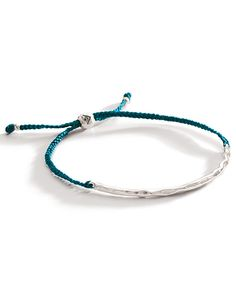 Adjustable Sliding Clasp. Cord, Sterling Silver. High-quality, high-fashion Sterling Silver Jewelry that allows women to design the life of their dreams.  Available at Silpada.com #SilpadaStyle