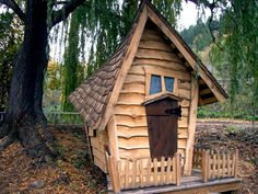 "I will buy this playhouse for my kid and make a sign that says ""The Shrieking Shack"""