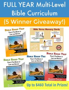 Bible Road Trip Year 1 Giveaway - Multilevel Bible Curriculum FB