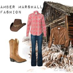 Amber Marshall Fashion by usheartlandlove on Polyvore