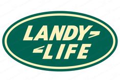 Landy Life - Land Rover Style Emblem Badge - Green / Tan Precision Cut and Produced from Premium Oracal Outdoor UV Resistant Vinyl and Laminated for 7 year protection Includes Installation Instruction                                                                                                                                                                                 More
