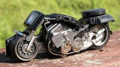 Awesome Model Vehicles Made Out Of Old Watches