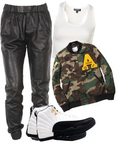 """Girl, You Make A Thug Want To Get A Legal Gig."" by neekcole ❤ liked on Polyvore"