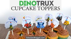 I have a Dinotrux superfan at my house! He watches the show, plays with the toys and even eats yogurt because it has Dinotrux characters printed on the container. Since my son received all of the toy figures for Christmas, it made sense that he wanted his birthday cupcakes to have his favorite guys on …