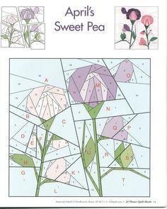 24 flower quilt blocks 11   Flickr - Photo Sharing!