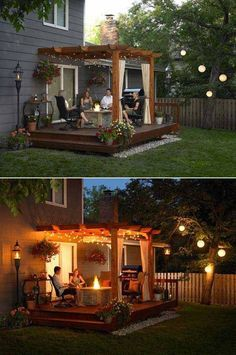 24 Inspiring DIY Backyard Pergola Ideas To Enhance The Outdoor Life #Pergola