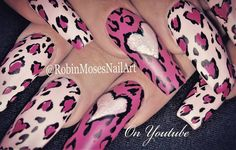 """228 Likes, 5 Comments - robin  moses (@robinmosesnailart) on Instagram: """"Just kitschy lush-us.ness.  #divanails playlist ☛in my bio and brushes at…"""""""