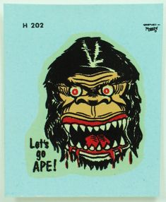 Rat Fink Water Slide Decals by Monte Let's by FindingMaineVintage, $12.75