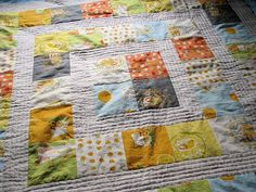 Child's quilt.