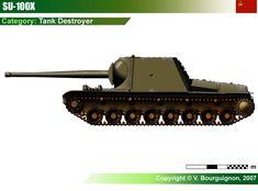 SU-100X Tank Destroyer