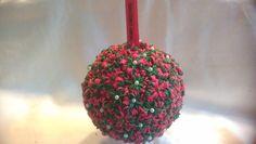 Rainbow loom Nederlands: (Kerst) bal van piepschuim / christmas ornament...