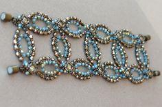 High Circles Bracelet Tutorial Swarovski by SidoniasBeads on Etsy