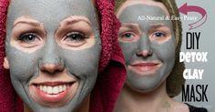 DIY: detox clay mask