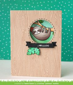My paper journey: Hang in there - Lawn Fawn inspiration week