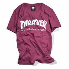 Nueva thrasher Camiseta de Los Hombres tee Patineta skate Camisetas de Manga Corta tapas de Hip Hop T shirt homme Hombre Revista trasher camisetas