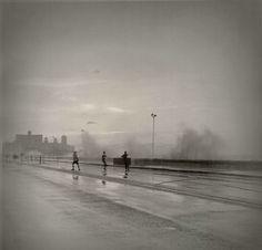 Alexey Titarenko - Untitled (Boys on Malecon) Blur Photography, Vintage Photography, Amazing Photography, Street Photography, Couple Photography, Alexey Titarenko, Dada Art Movement, City Of Shadows, Cuba