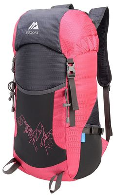 Mozone Large 40l Lightweight Travel Water Resistant Backpack foldable  Camping Items 6d6cf4cfbdcf4