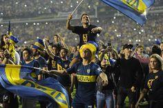 Boca campeón de la Superliga el festejo en la Bombonera desde adentro