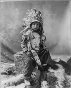 James Spotted Elk-Sioux Indian boy