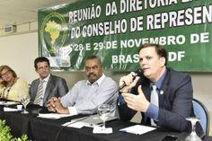 O Presidente da Federação Nacional dos Policiais Federais (Fenapef), Luís Antônio Boudens, participou da Reunião da Diretoria Executiva e do Conselho de Representantes da Confederação dos Servidores P ...