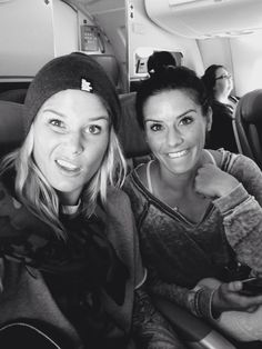 Ashlyn Harris and Ali Krieger #USWNT #SqorSports