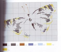 Marie-Thérèse Saint-Aubin cross stitch - Papillon 2
