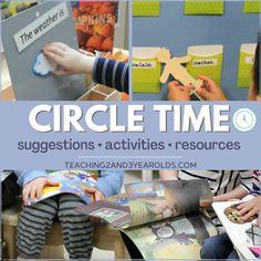 Circle Time Printable