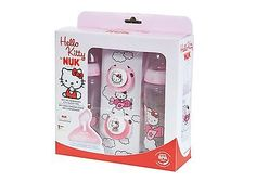 Nuk 710305 set of 2 bottles and 2 #dummies #hello #kitty theme nuk, View more on the LINK: http://www.zeppy.io/product/gb/2/191796780774/