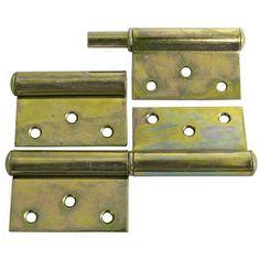 Záves T0018 • 120x68x2.0 mm, Yzn