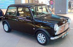 My Dream Car! Mini Mark VI, custom eggplant paint job... O.M.G!!