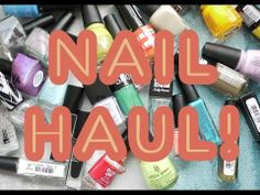 April 2014 Nail Haul! Target, Sally Beauty, Walmart, Gloss48, Julep, Amazon, & Ebay! - YouTube // elleandish