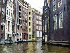 Amsterdam-  would definitely go back to this city and stare at every single wall every day. Magnificent and enchanting!