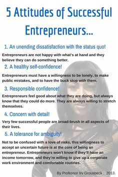 Discover if you have some of the most important characteristics of a successful entrepreneur. If you have these on this list, you are definitely on the right track.  #discoveriesofadreamchaser #motivation #girlboss #entrepreneur #work #werk #ootd #counseling #mentor #advice #designer #atlanta #fashionista  #entrepreneur #pinterestpower