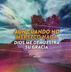 Dios es tan bueno y misericordioso!