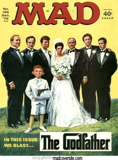 MAD MAGAZINE (The Godfather (1972))  (designcrave.com)