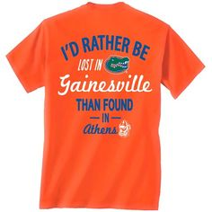 Gators Lost and Found Tee at The Gator Shop