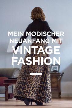 Mein modischer Neuanfang mit Vintage Fashion // Slowfashion // Ecofashion // Fair Fashion // OOTD // Photo: eyetakeyourpicture.de Vintage Rock, Revolution, Leo, Insight, Ootd, Boutique, People, Fashion, New Start