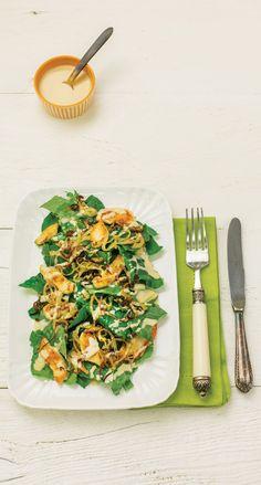 Salada de couve com frango e molho de amendoim | Receita Panelinha: A estrutura…
