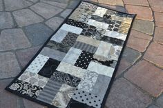 modern quilted table toppers - Google Search