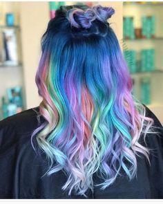 Likes, 100 Comments - Pulp Riot Hair Color (Pulp Riot Hair) on . Pretty Hair Color, Beautiful Hair Color, Unicorn Hair Color, Pulp Riot Hair Color, Underlights Hair, Multicolored Hair, Colourful Hair, Colorful, Pinterest Hair