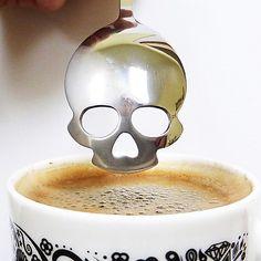 La cuchara de café memento mori